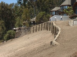 Finished Retaining Wall